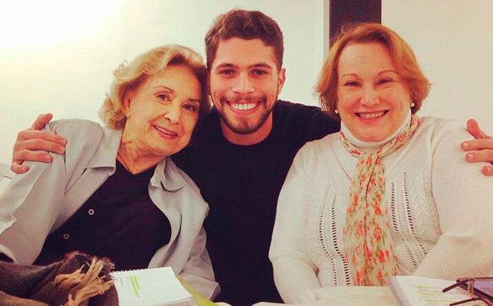 Gustavo Barchilon com as atrizes Eva Wilma e Nicette Bruno