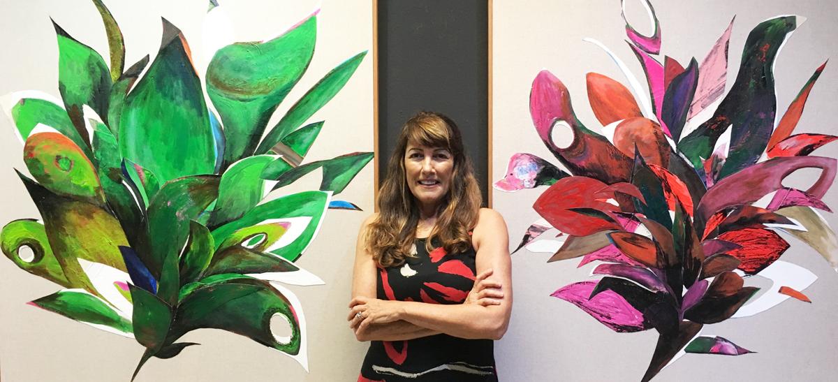 Exposição de Myriam Glatt pode ser visitada até o dia 17 de fevereiro, na Hebraica-SP