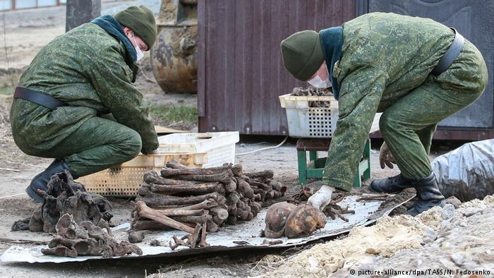 Vala coletiva de judeus é descoberta em Belarus