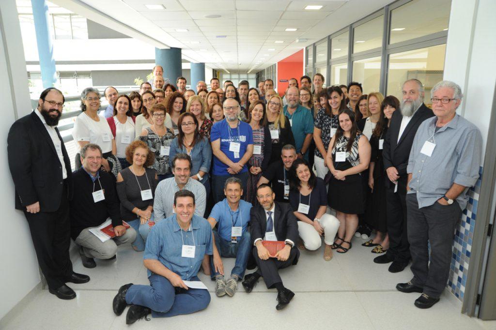 Participantes do 5 Encontro Nacional das Escolas Judaicas