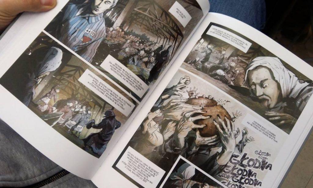 Artista polonês transforma relatos de sobreviventes