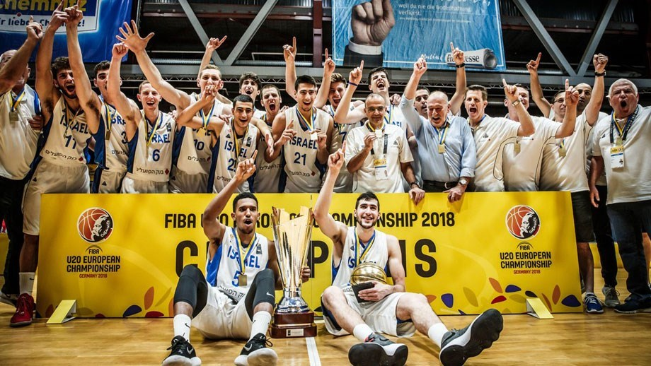Israel campeão europeu de basquete