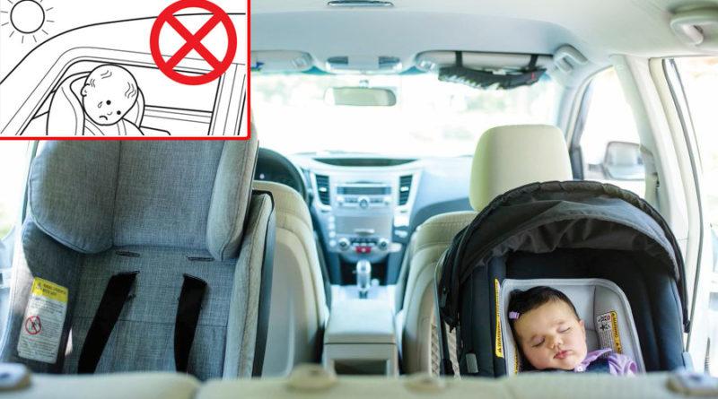 Sensor alerta sobre crianças esquecidas nos carros
