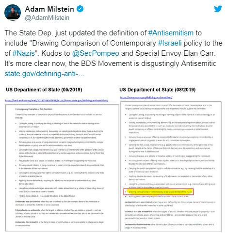 EUA-define-que-comparar-Israel-com-nazista-e-antissemitismo