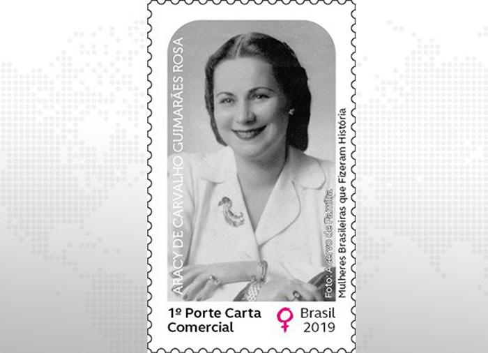 Aracy Guimarães, que arriscou a vida para salvar judeus, é homenageada com selo pelos Correios