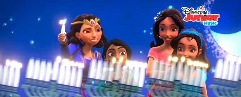 Na-Disney,-a-princesa-Elena-visita-as-tradições-de-Chanuká