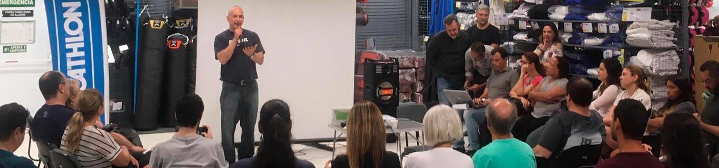 Mauro Wainstock realiza evento inspirador do HUB 40 PRINCIPAL