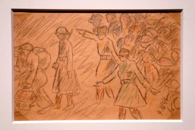 Museu de Nova York abre exposição com desenhos de vítimas do Holocausto