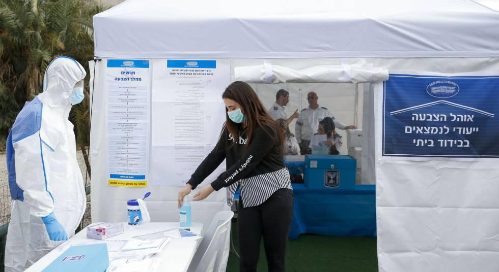 Número de casos de israelenses com coronavírus