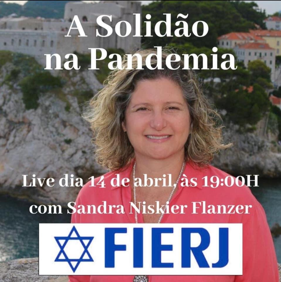 FIERJ promove live com Sandra Niskier Flanzer