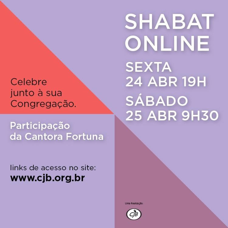 Shabat online com a cantora Fortuna