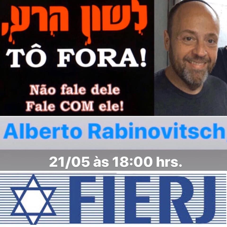 Alberto Rabinovitsch participa de live a convite da FIERJ