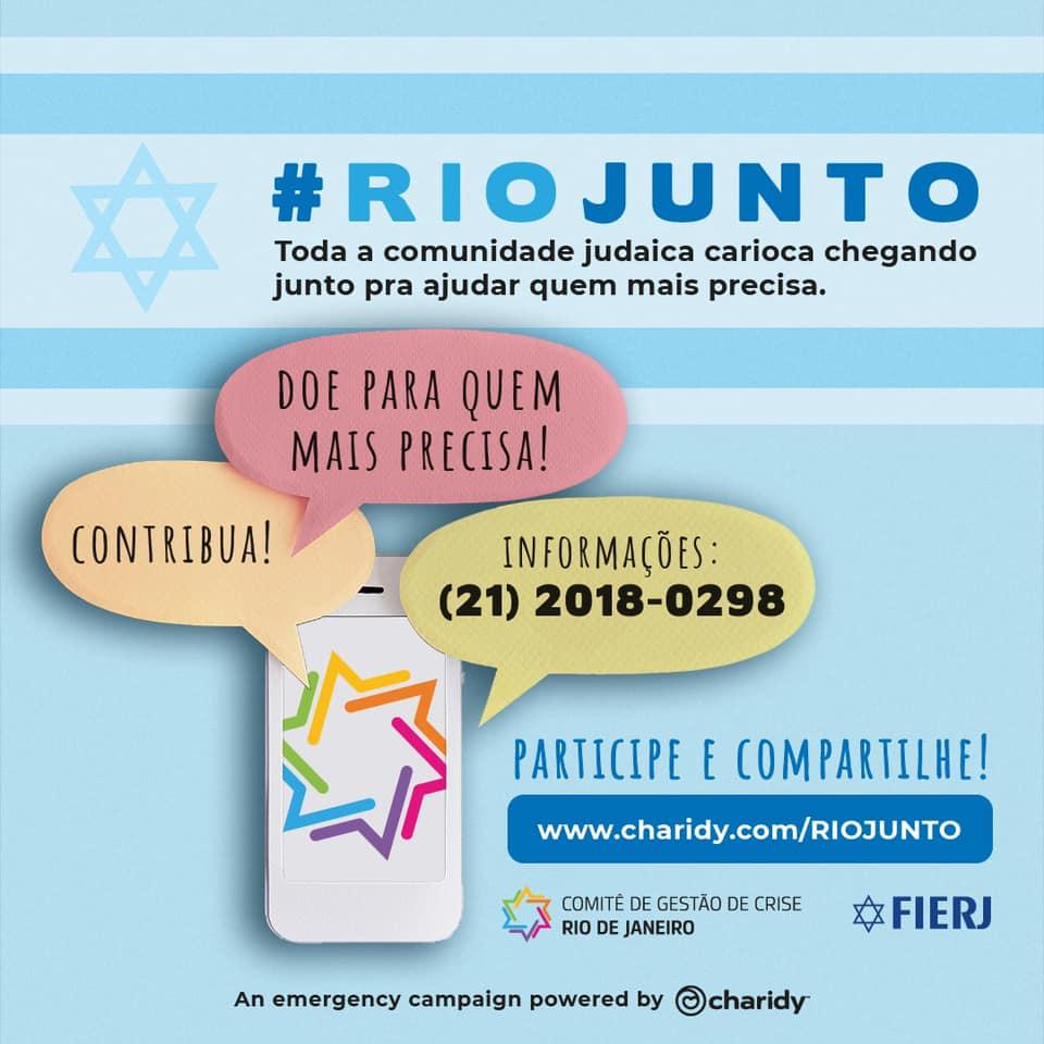 Campanha da FIERJ pede doação para compra de cestas básicas e remédios para pessoas com dificuldades financeiras