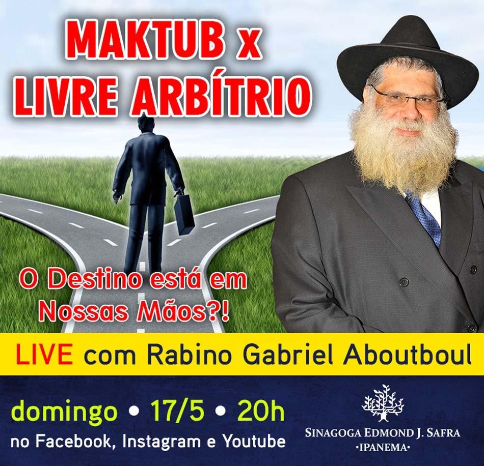 Live-com-o-rabino