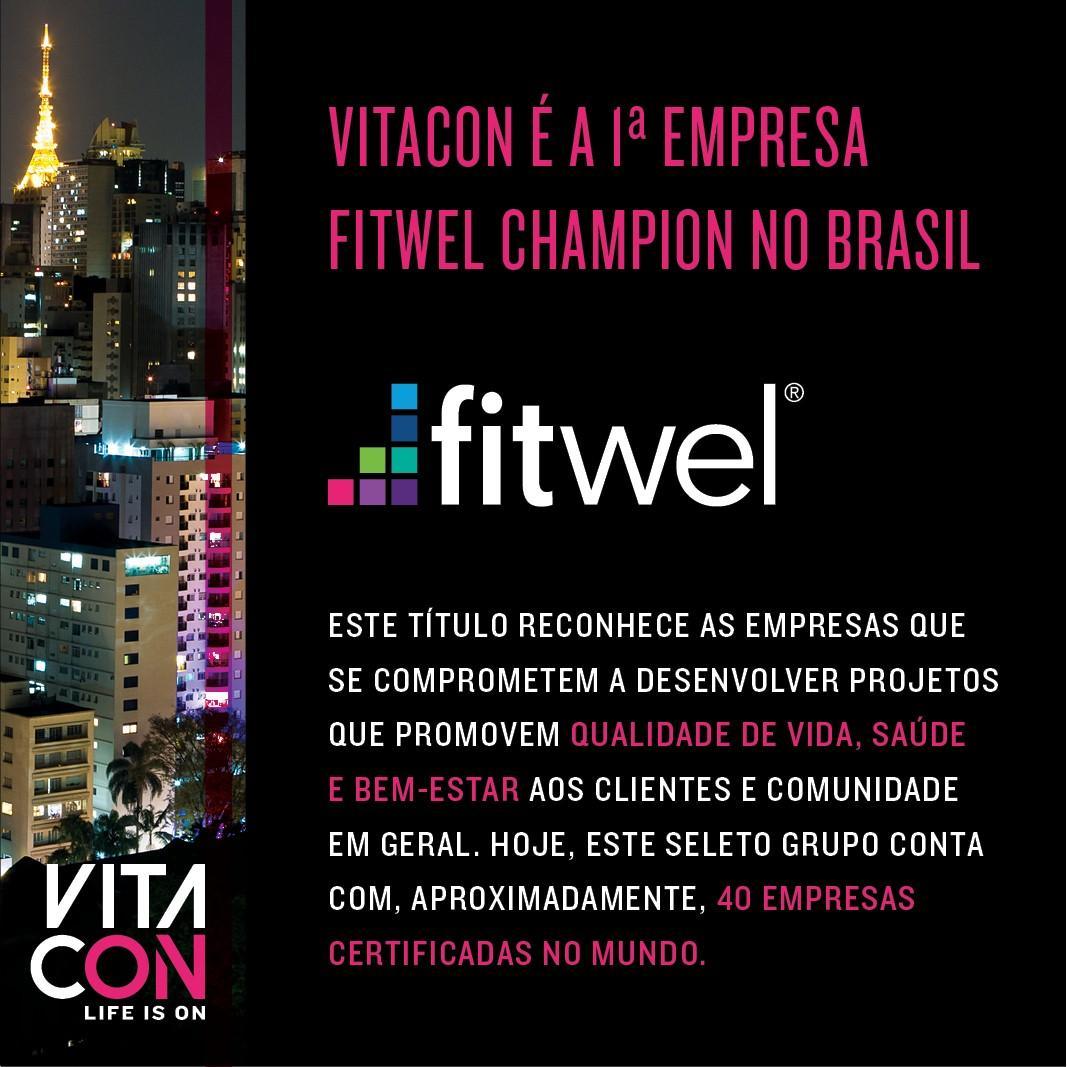 Vitacon, leia-se Alexandre Lafer Frankel, é certificada empresa Fitwel