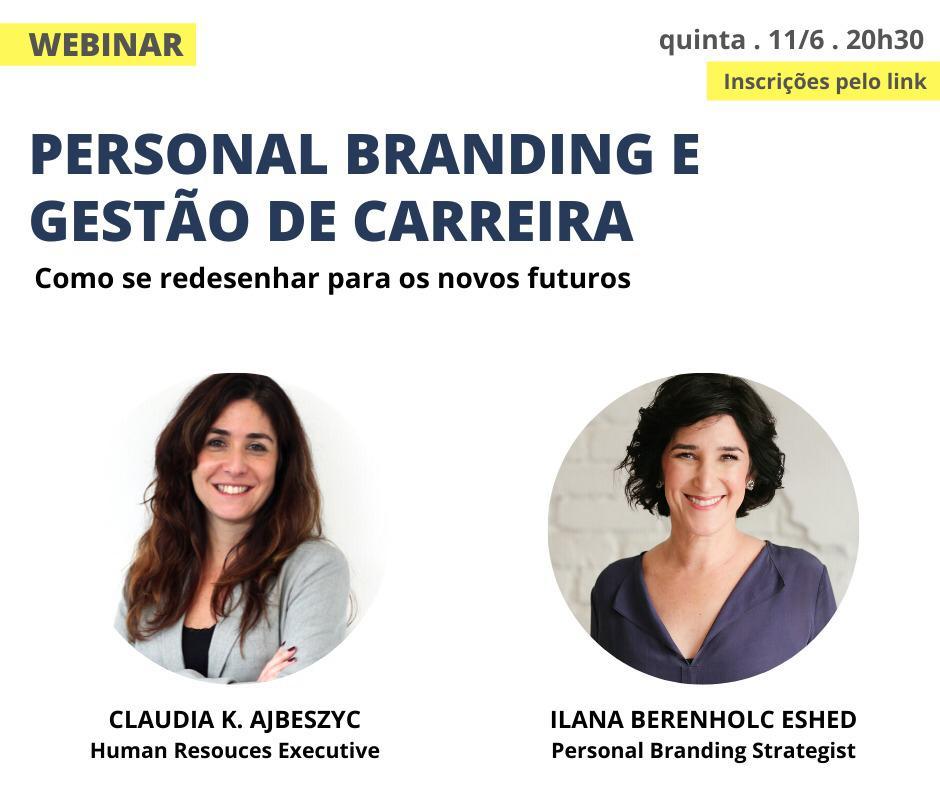 Claudia Ajbeszyc e Ilana Eshed participam de live sobre gestão de carreira